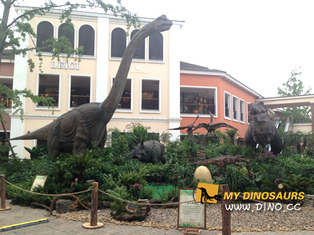 Outlets dinosaur exhibiton