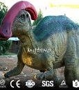 Parasaurolophus model