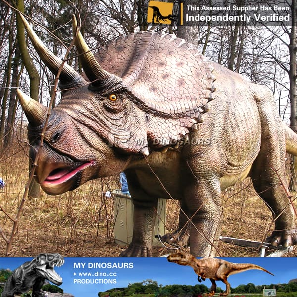 Artificial Simulation Triceratops Model