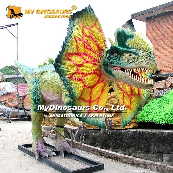Dilophosaurus Head 1