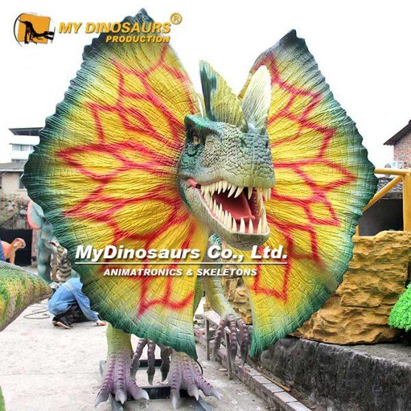Dilophosaurus Head