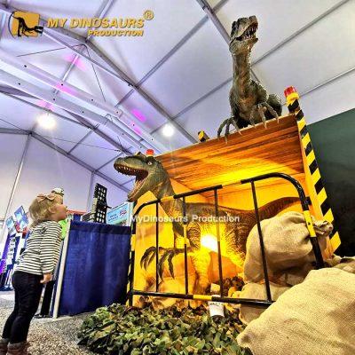 Life size raptor for sale 5