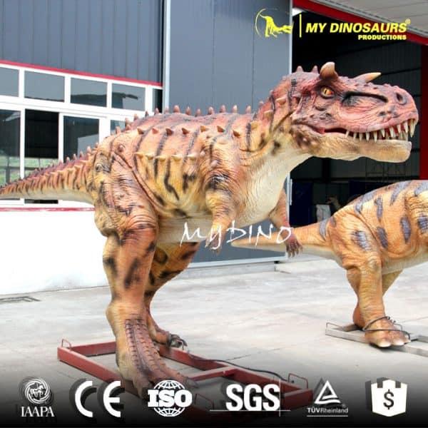 animated dinosaur Carnotaurus