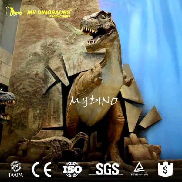 animation dinosaur sculpture for sale
