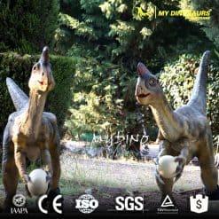 artificial dinosaur type animatronic