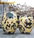 dinosaur egg statue