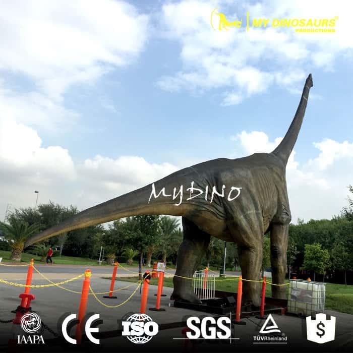 large dinosaur model