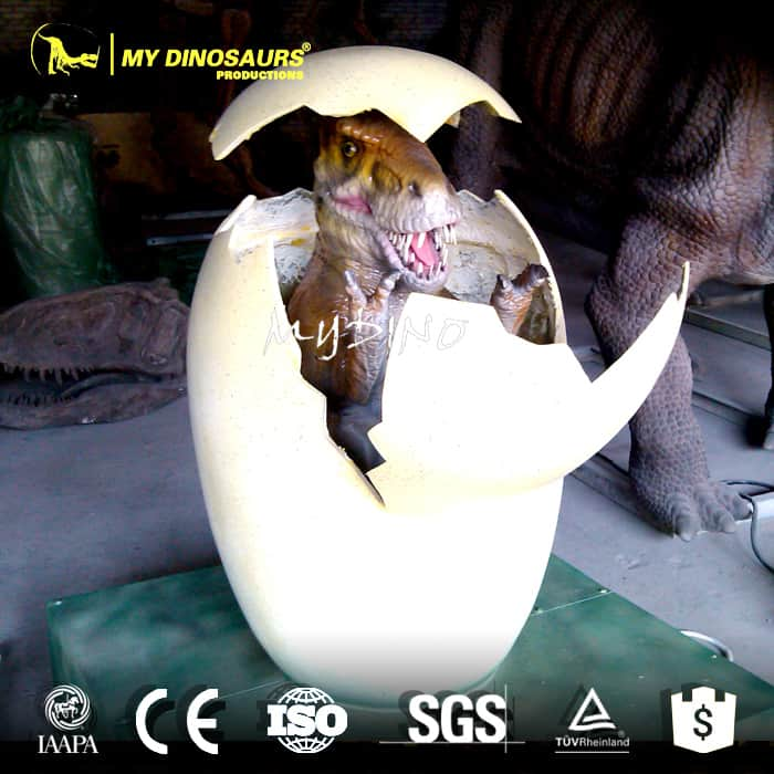 robot dinosaur eggs