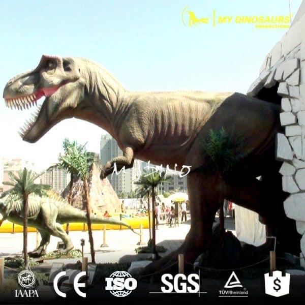 Half Body Dinosaur T Rex