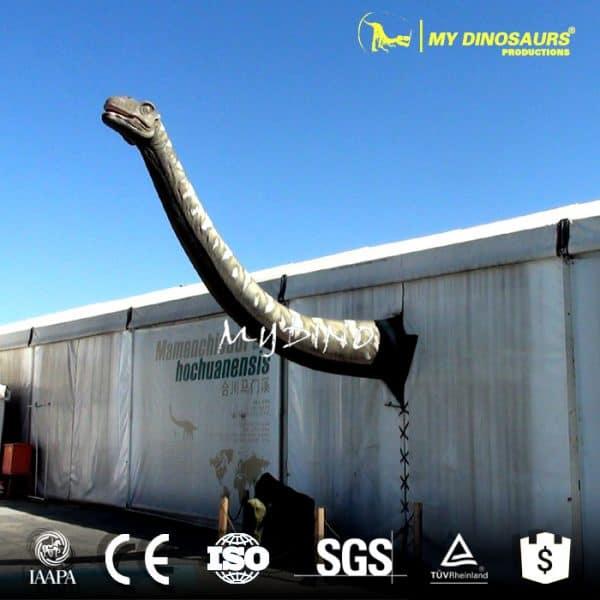 wall mounted dinosaur head 1