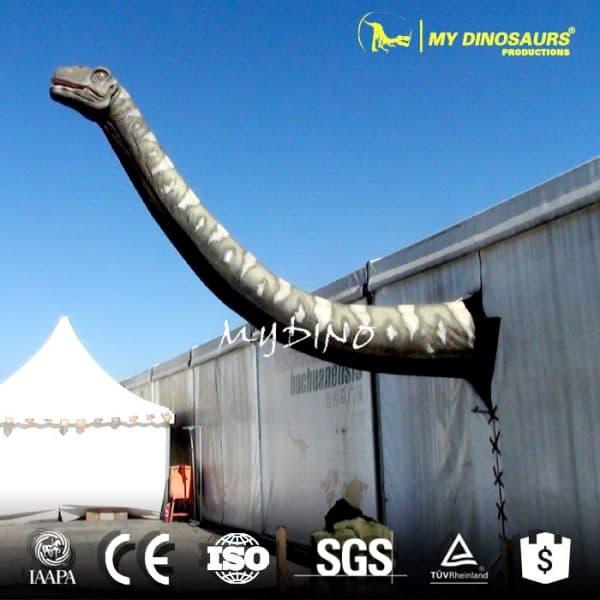 wall mounted dinosaur head