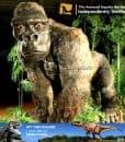 AA 001 Life Size Gorilla Model Outdoor  Realistic Animatronic Animal Model