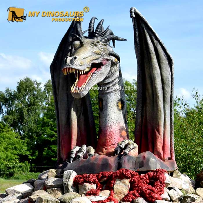 Animatronic dragon