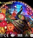 Chinese lantern Peacock 1