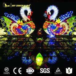 Chinese lantern Swan