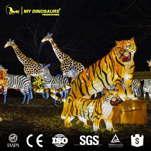 Chinese lantern animals 1