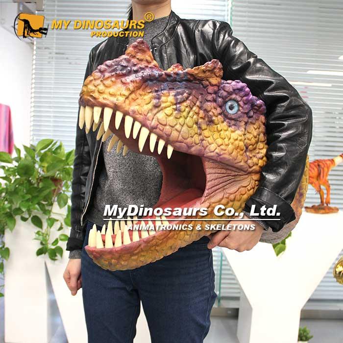 Dinosaur helmet