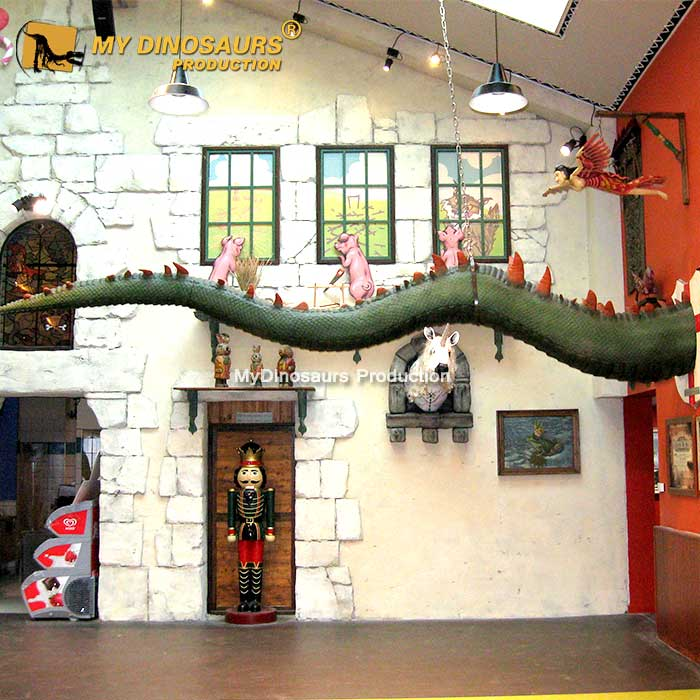 animatronic Dragon tail