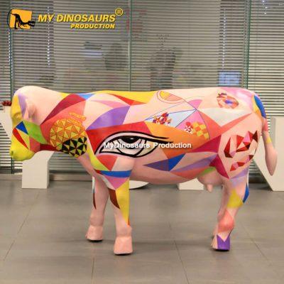 Fiberglass cow 1