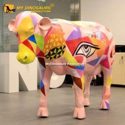 Fiberglass cow