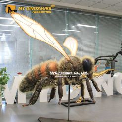 Large worker bee
