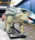 Life size Ankylosaur model 1
