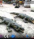 Robotic animal crocodile