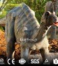 animatronic dinosaur Corythosaurus