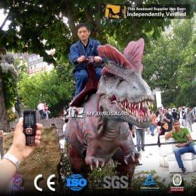 amusement dinosaur rides for sale