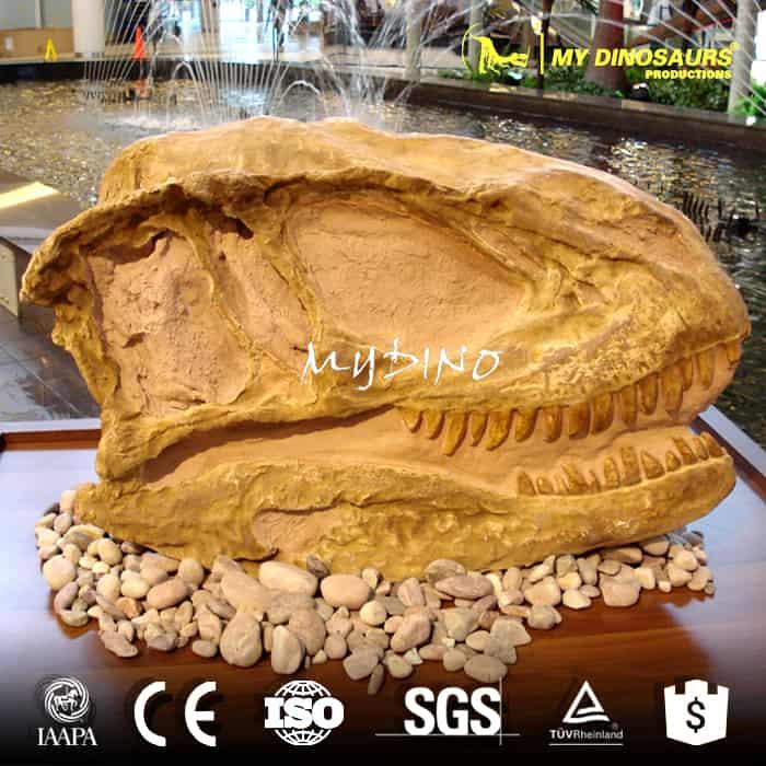 animal skull replica