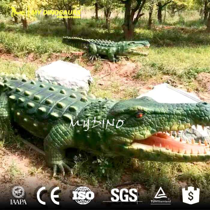 artificial crocodile