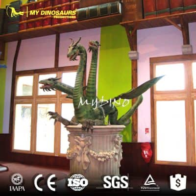 bronze chinese dragon statues
