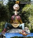 Cartoon Statue