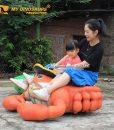 custom crab scooter