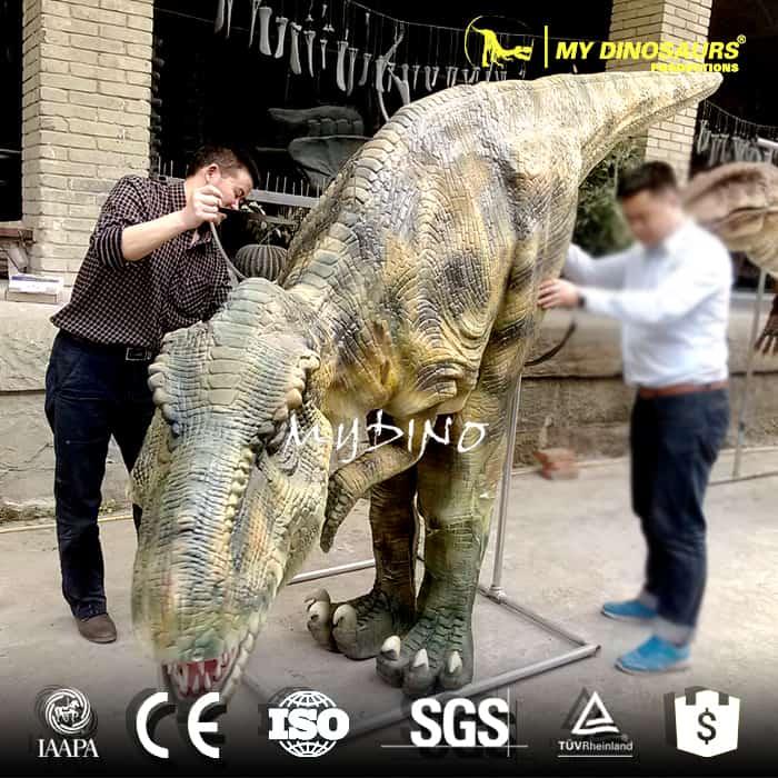 dinosaur costume hidden legs 7