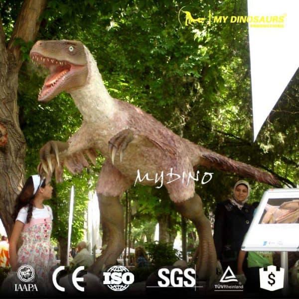 China Animatronic Dinosaur Velociraptor