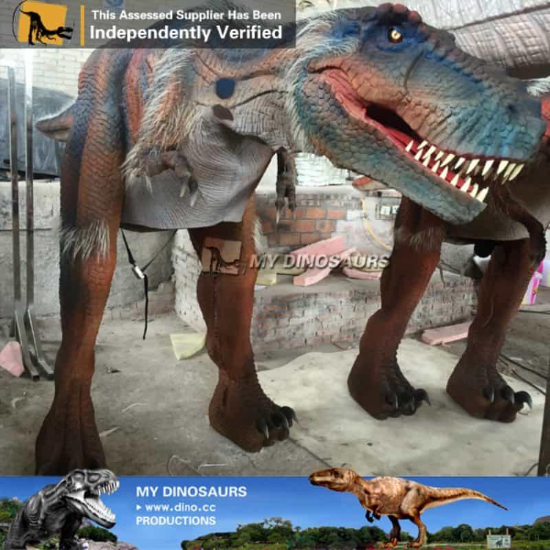dinosaur t rex cosplay costume puppet