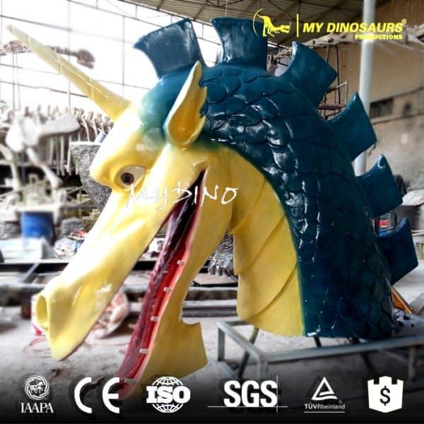 dragon head model 2