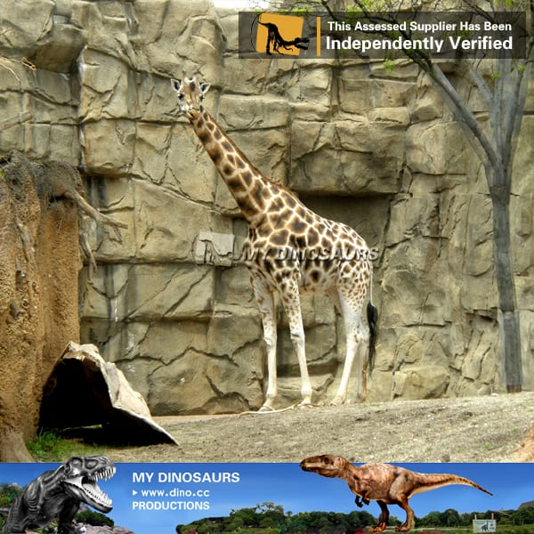 animatronics giraffe