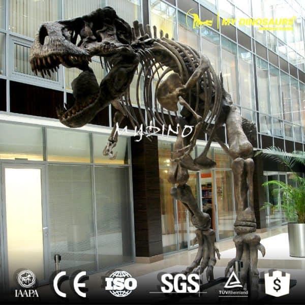 life size t rex skeleton