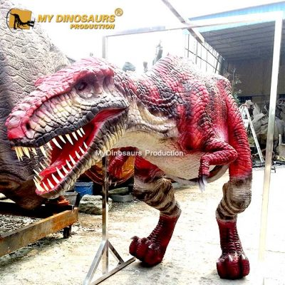robotic dinosaursuit