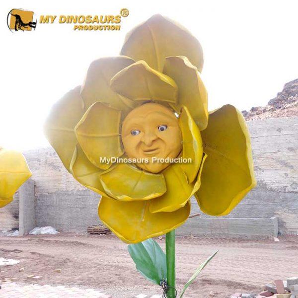 Animatronic talking flower 4