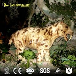 3d animal Machairodus