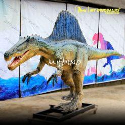 Fiberglass spinosaurus 1