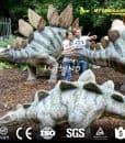 Life Size Stegosaurus Dinosaur Statues
