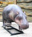 Pigmy Hippo statue 1
