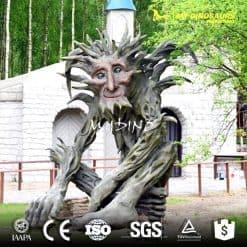 amusment park speaking tree