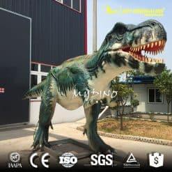 Moving Tyrannosaurus