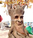 animatronic maple leaf talking tree 1