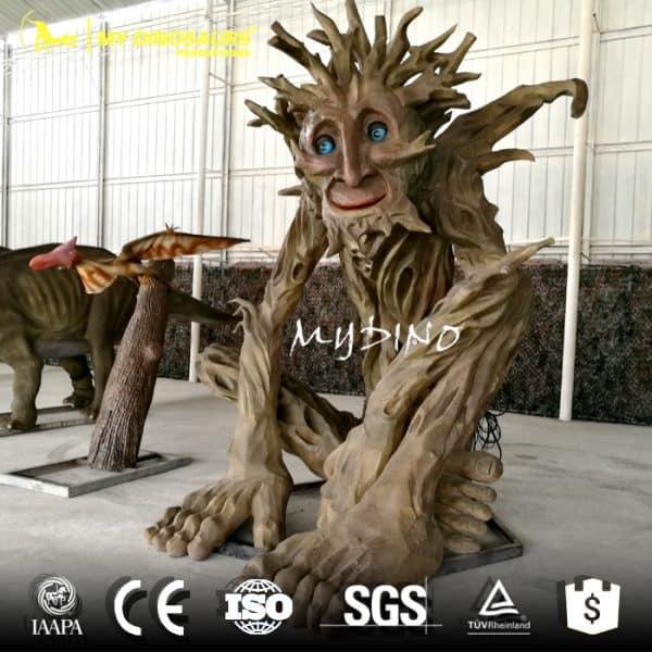 animatronic talking tree